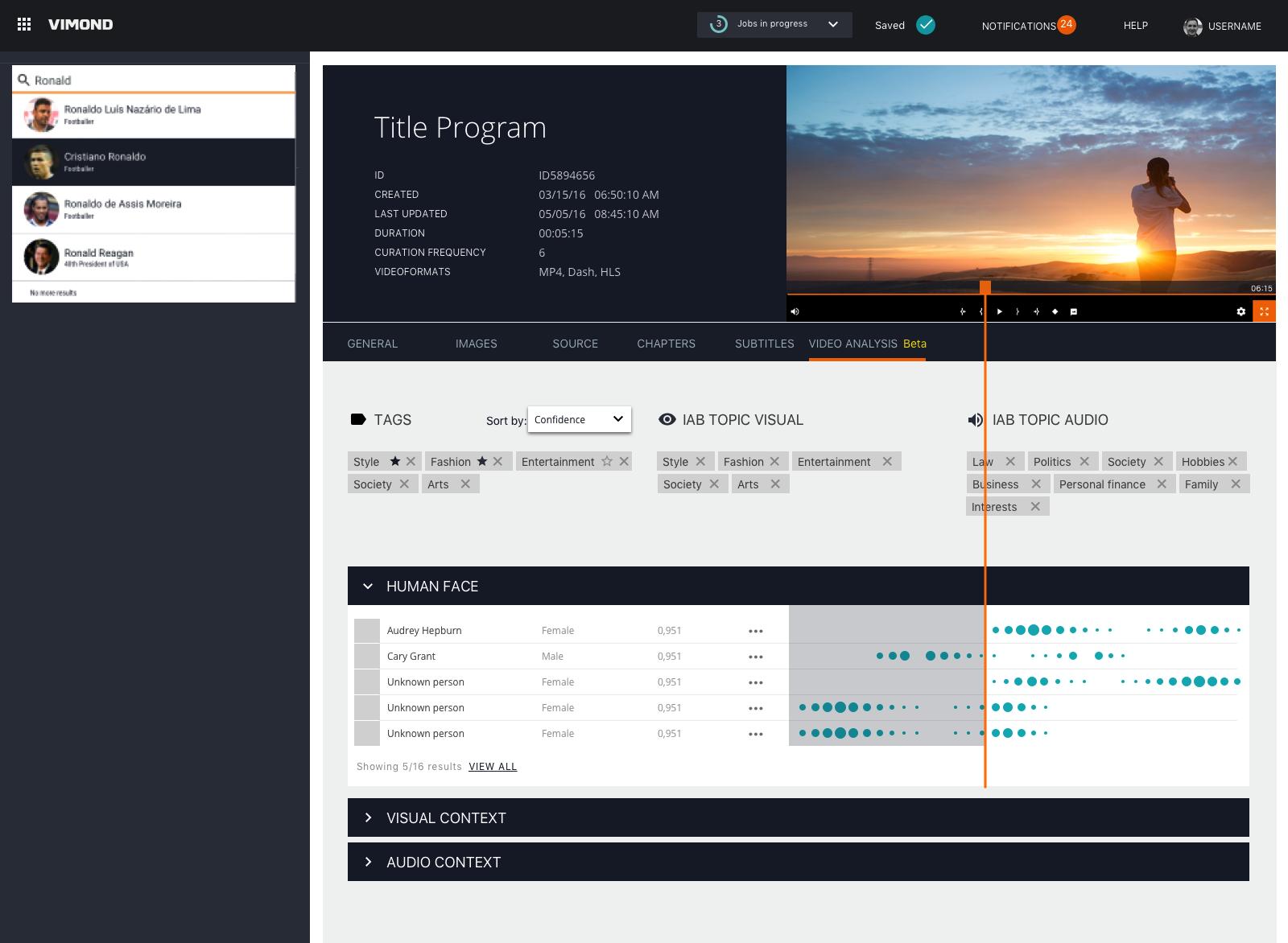 Vimond Media Solutions and Valossa Announce Partnership - Valossa AI