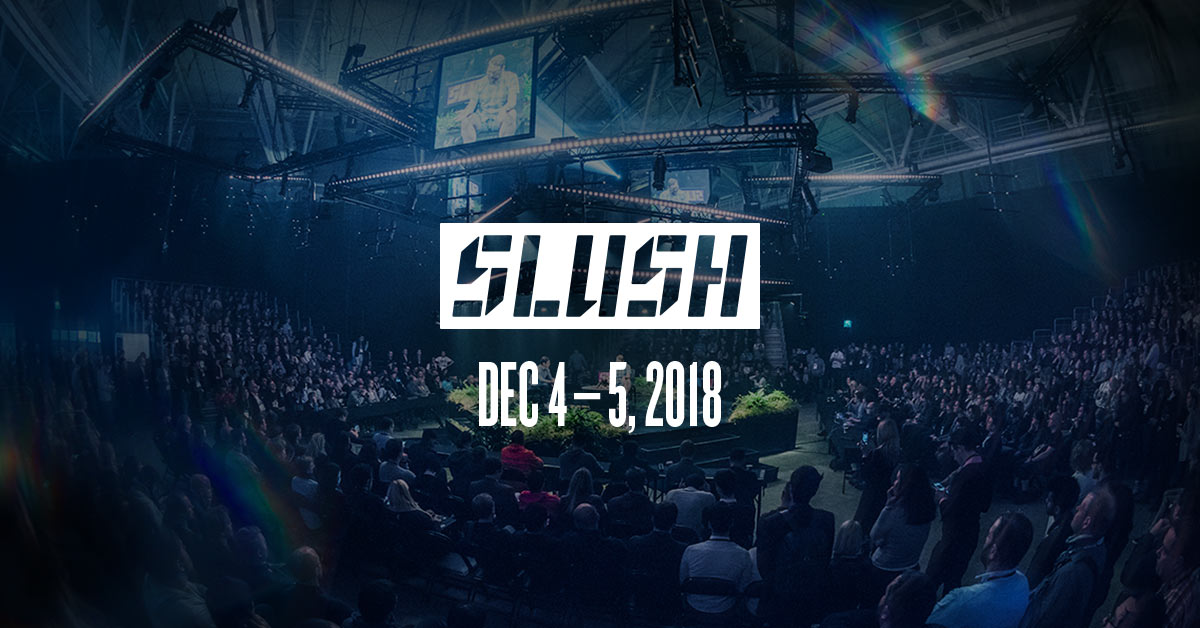 valossa at slush 2018