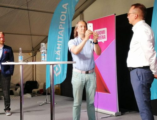 LocalTapiola demonstrated their new health app powered by Valossa AI live face analysis